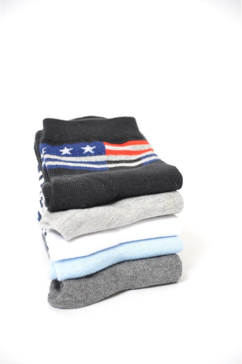 Комплект подростковых носков (5 пар)